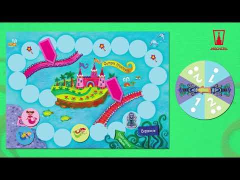 Трейлер к настольной игре Русалочки