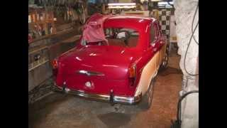 мои москвич 407 реставрация 1958года