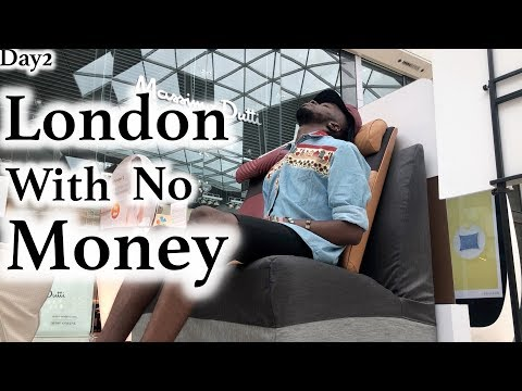 London With No Money - Day 2