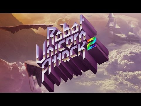 Robot Unicorn Attack 2 Exclusive Trailer For IPhone & IPad