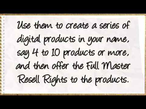 How To Rake In MASSIVE Recurring Profits From Private Label Rights