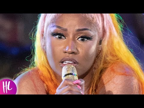 Nicki Minaj Gives Man A Lap Dance & His Girlfriend's Reaction Is Priceless | Hollywoodlife
