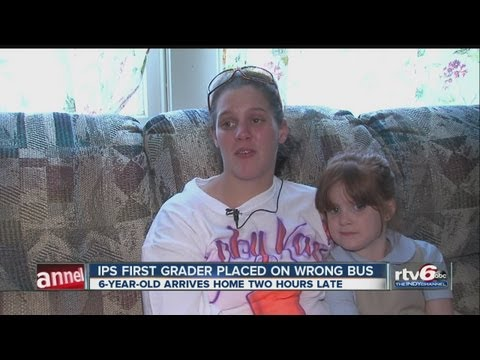 Family fears worst after IPS student, 6, arrives home 2 hours late