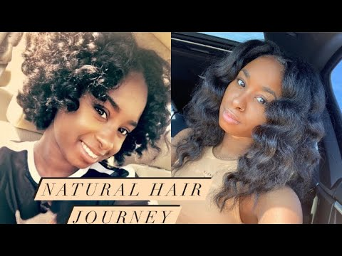 Natural Hair Journey | How I Grew My Hair | Pictures included‼️