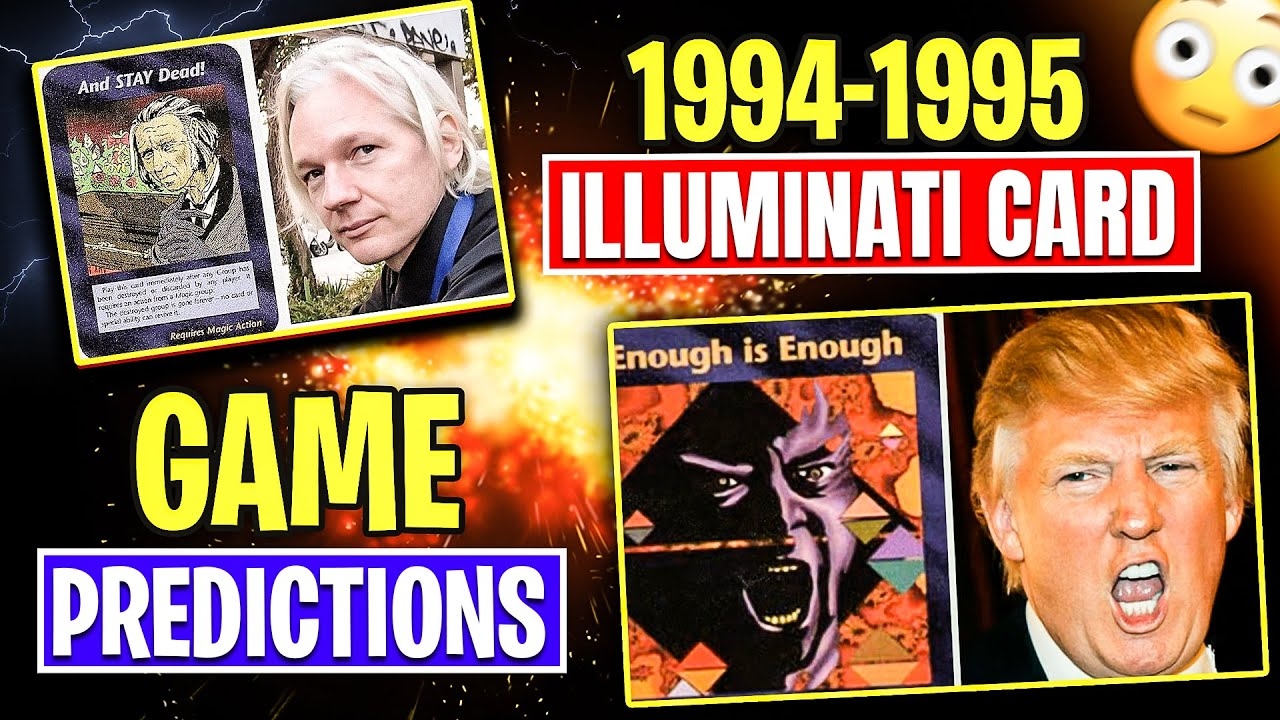 1994-1995 Illuminati Card Game Predictions Every The Event Our Future And Past - 110 HD Cards INWO