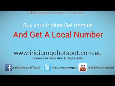 Iridium Go Wi-Fi Hotspot