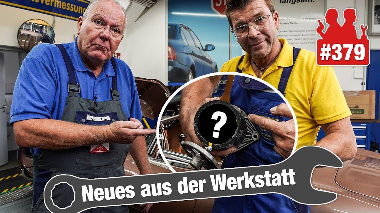 Download VERTANKT!! 😱 Ist der Diesel-Citroën noch zu retten? | Holgers Jaguar E-Type - Batterie ständig leer!