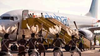 Fly Dubai in Entebbe - Uganda