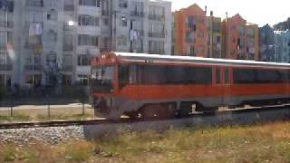 UT-440 / Biotren - Carrera de trenes. UT-101 y UT-102 corren juntos en Concepción
