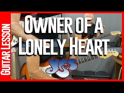 Owner Of A Lonely Heart By Yes - Guitar Lesson