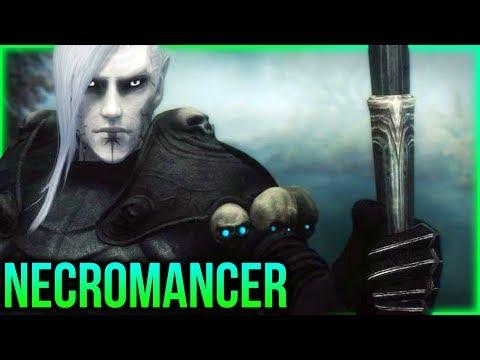 Skyrim - DLC SIZED Necromancer Quest Mod!