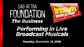 The Business: Performing in Live Broadcast Musicals