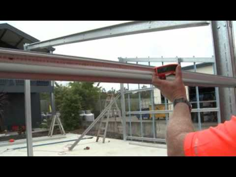 FDS - Horizontally Clad, Monopitch Roof Construction Video