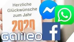 Werbung bei Whatsapp & Dating bei Facebook: Das ändert sich 2020! | Galileo | ProSieben