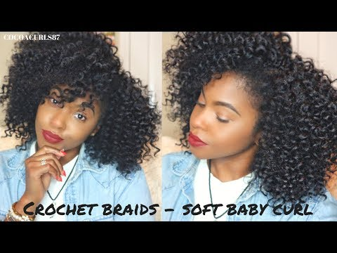 Crochet Braids: Freetress Baby Soft Curl