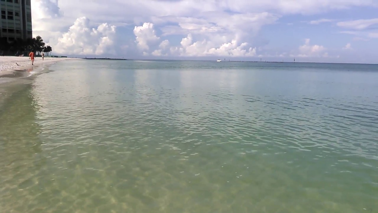 The Crystal Clear Waters Of South Beach Marco Island Florida