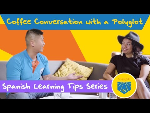 Coffee Conversation With A Polyglot | Spanish Academy TV