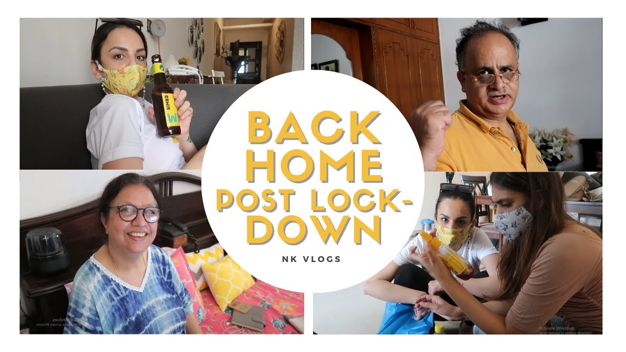 Moving Back After 45 Days! | Deep Cleaning My House | Post Lockdown Vlog
