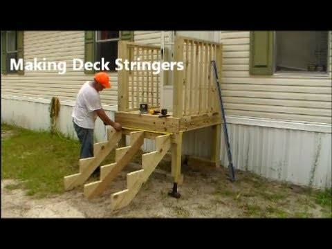 Making stair stringers learn how to build your own for Steps to building your own house