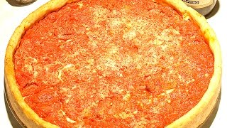 How to make Chicago Style Deep Dish Pizza | Pizzeria Ora Chicago
