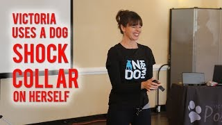 **NEW**  Victoria Uses A Shock Collar On Herself