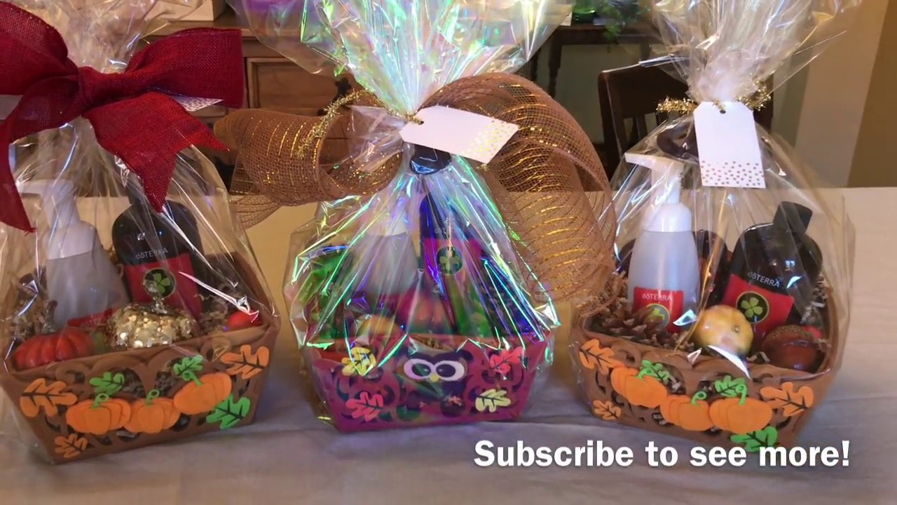 Making dterra teacher gifts gift baskets hostess gifts youtube making dterra teacher gifts gift baskets hostess gifts negle Image collections