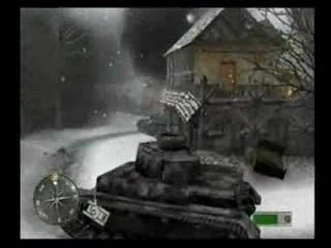 Call of Duty 2 Big Red One: PANZER RAMPAGE!!!!!