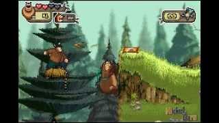 Open Season - Begining, Squirrel Land 1/8 (GBA Walkthrough)