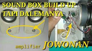 TDA 2822 di box speker build up  dengan bass ultra