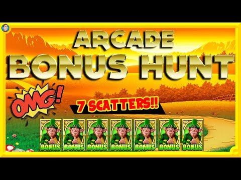 BIGGEST EVER Arcade Bonus Hunt!!