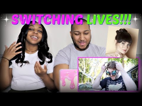 """Shane Dawson """"SWITCHING LIVES WITH A BLIND PERSON"""" REACTION!!!"""
