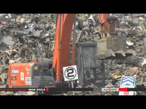 Sendai completes inflammable debris clean up