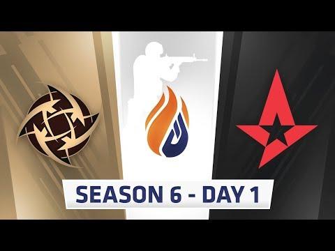 ECS Season 6 Day 1 NIP vs Astralis - Train