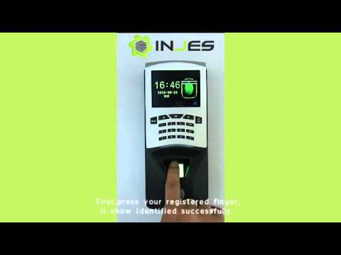 Register and Delete User of MYM7 fingerprint access control device
