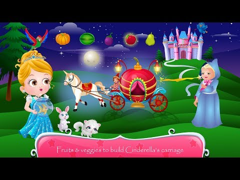 "Princess & Prince, Baby Hazel Cinderella Story | Fun Baby Games | ""Games For Kids"""