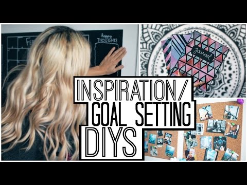 Inspiration/Goal Setting DIYs & Decor!