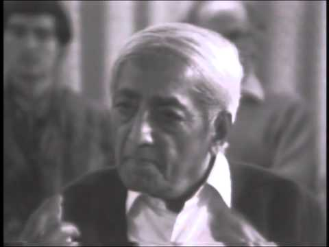 J. Krishnamurti - Brockwood Park 1978 - Discussion 1 with Buddhist Scholars - We are all...