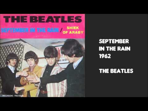 September in the Rain by The Beatles 1962 Decca Records audition