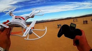JJRC H8C Drone Test Flight - The X5C Killer?