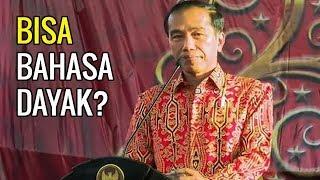 KEREN! Pak Jokowi Pidato Pakai Bahasa Dayak Saat Kunjungan Ke Pontianak