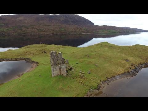 Ardvreck Castle, Sutherland  . 4K