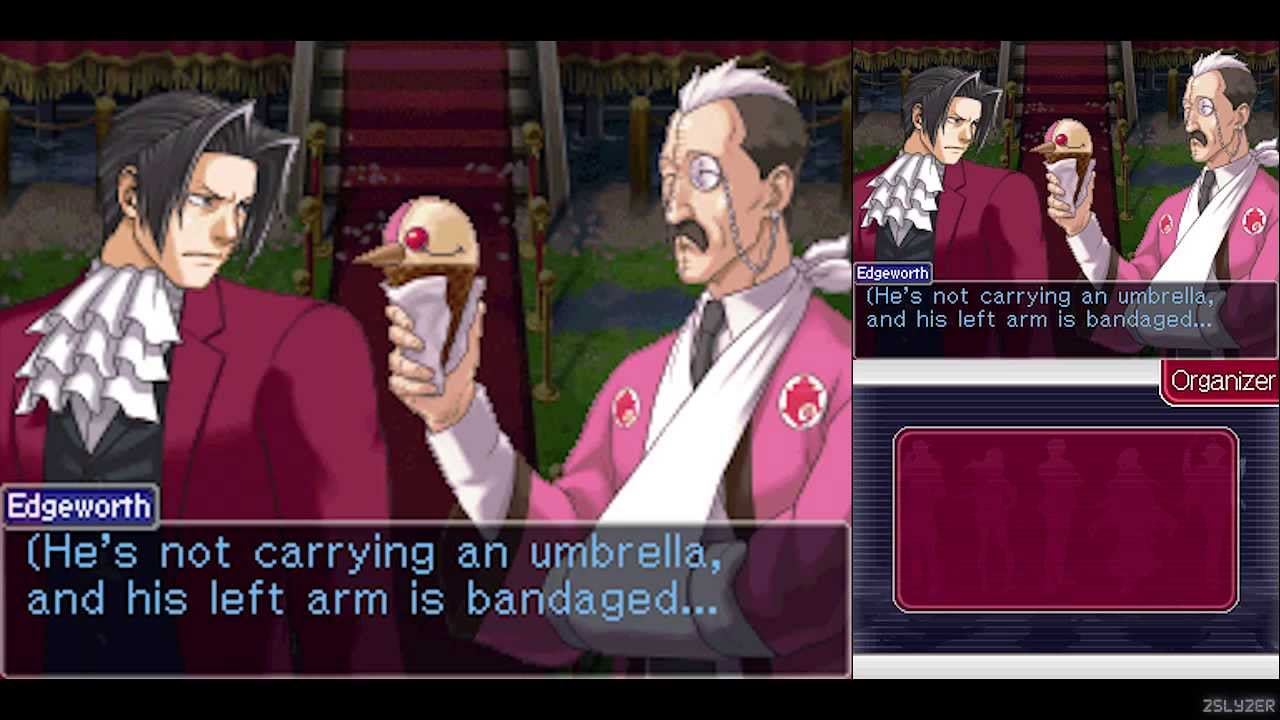Image result for miles edgeworth investigations 2