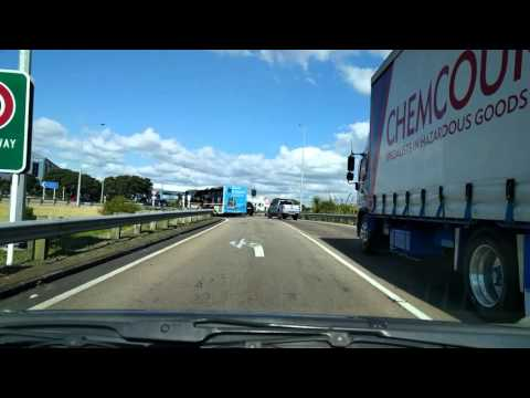 Driving from Grafton, Auckland to Mt Wellington 2016 Fall