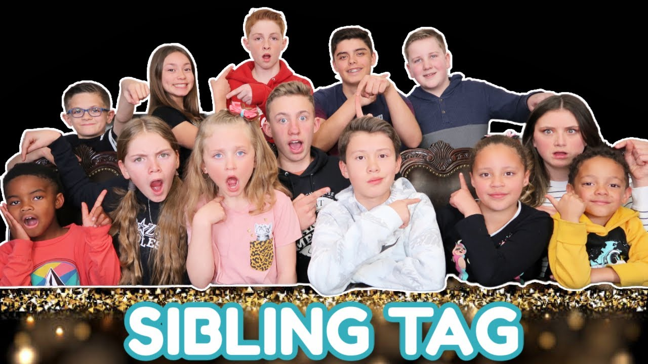 Sibling Tag! | You Did WHAT?!