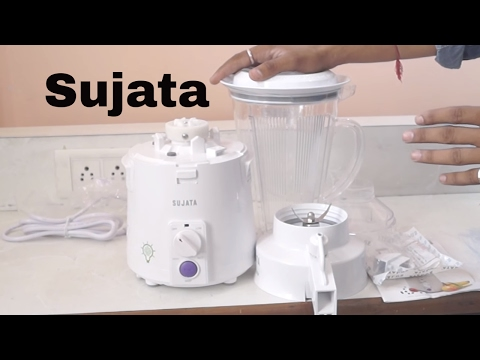 Sujata Megamix Mixer Blender Juicer Unboxing & Review    Best Juicer In India
