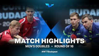 Andras C./Juhasz P. vs Sidorenko V./Skachkov K. | WTT Contender Budapest 2021 (R16)