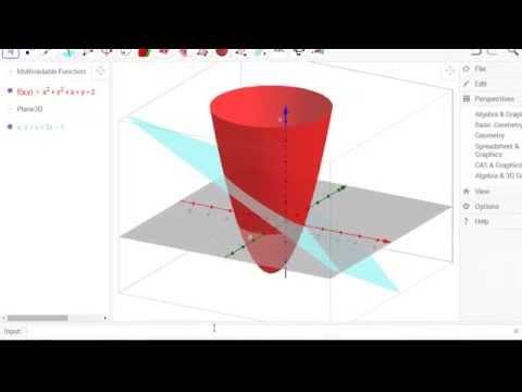GeoGebra Chrome App with 3D View - YouTube