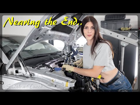 Engine Install Was Not Easy, But It's In! // My Audi TT Giveaway