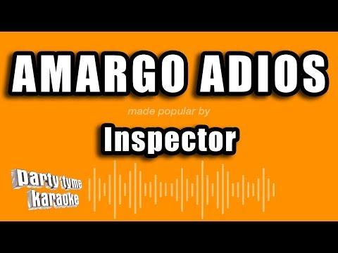 Inspector - Amargo Adios (Versión Karaoke)