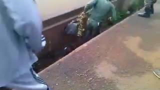 Entrainement des force armée guinéenne